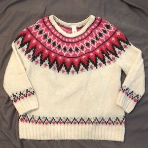 Women's fair isle sweater from H&M L.O.G.G.